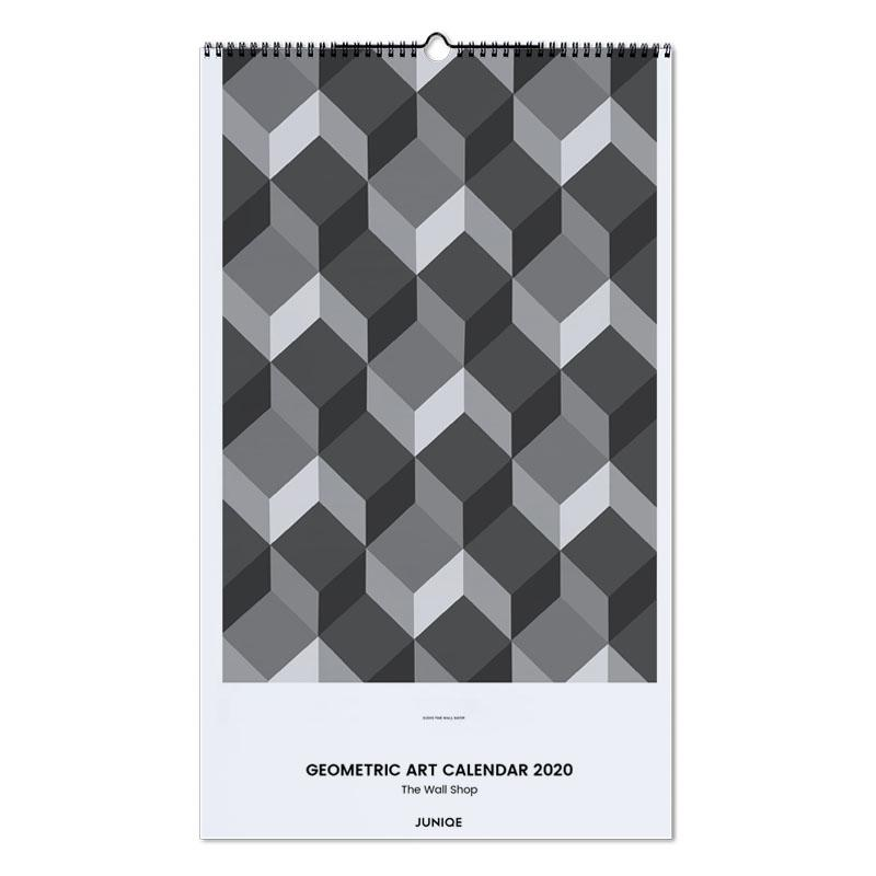 Geometric Art Calendar 2020 - The Wall Shop Wall Calendar