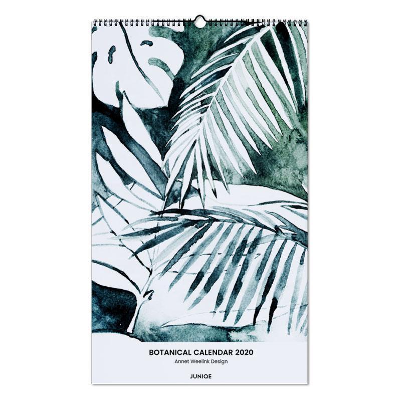 Botanical Calendar 2020 - Annet Weelink Design -Wandkalender