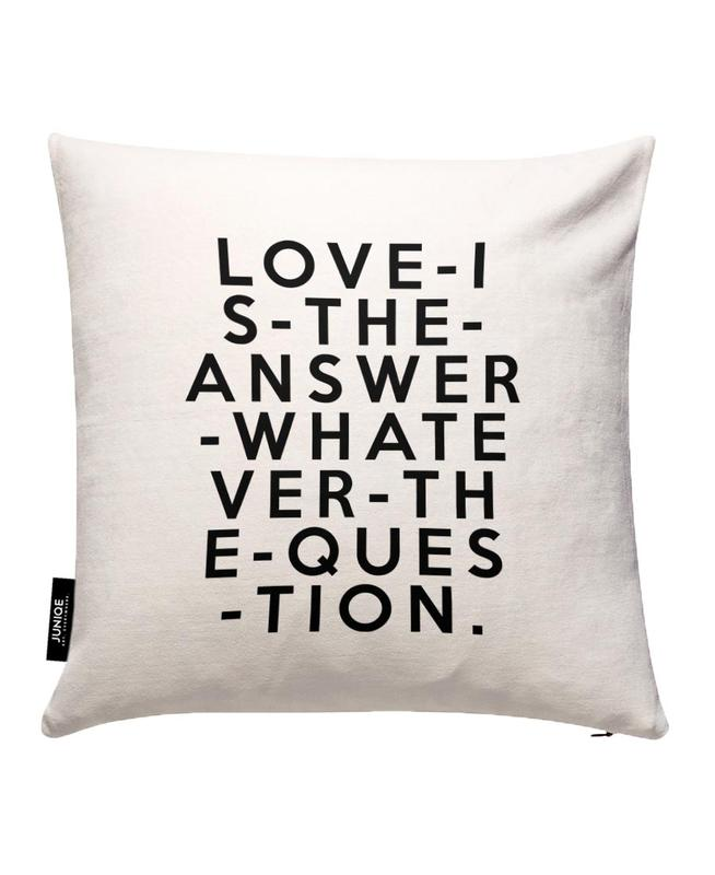 Love Is The Answer Cushion Cover