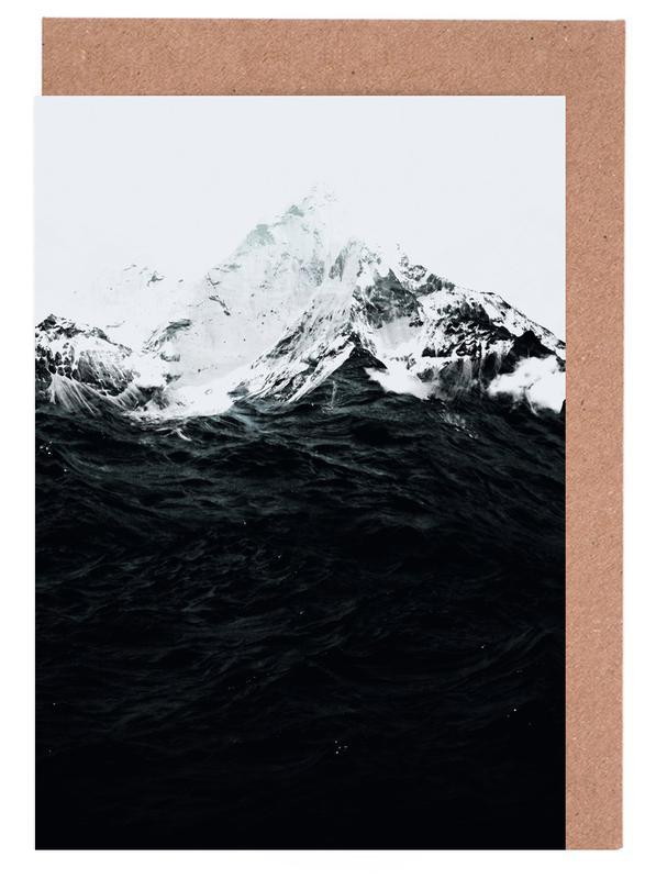 Those Waves Were Like Mountains Greeting Card Set