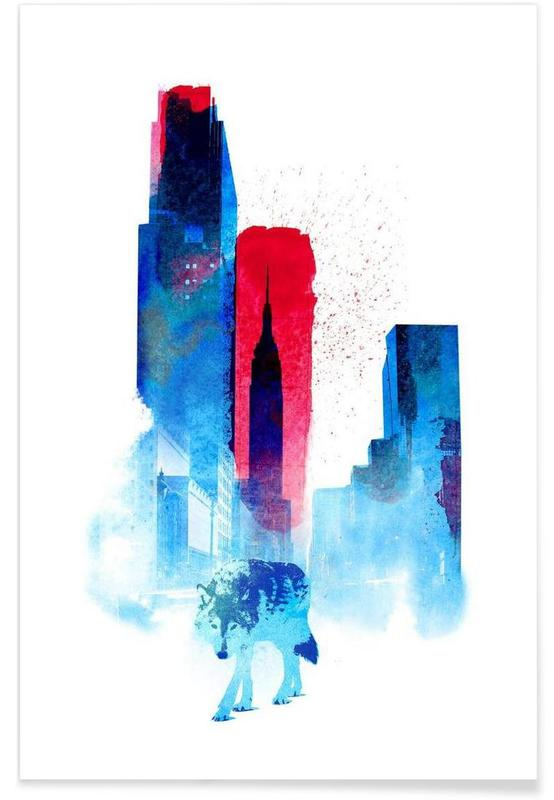 The wolf of the city affiche