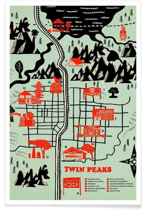 Twin Peaks affiche