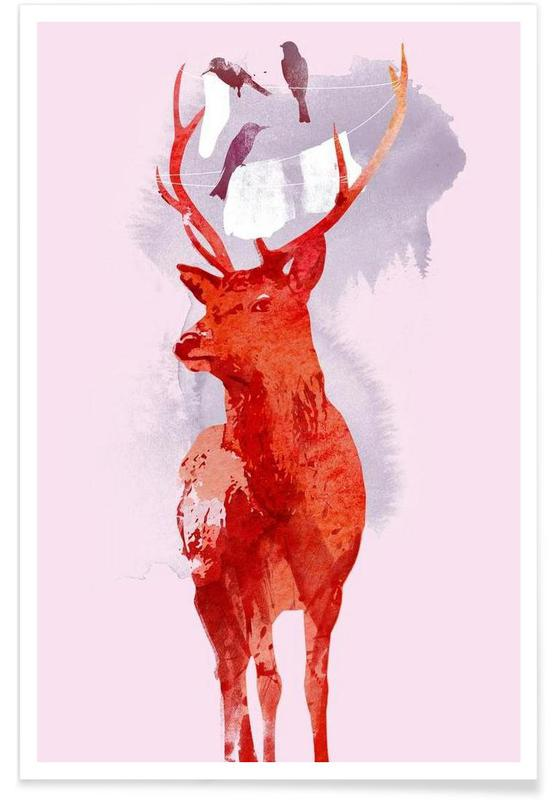 Useless deer affiche