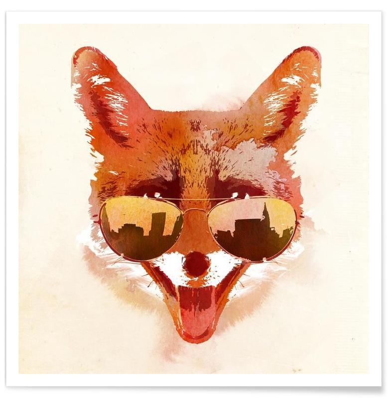 Big Town Fox Poster