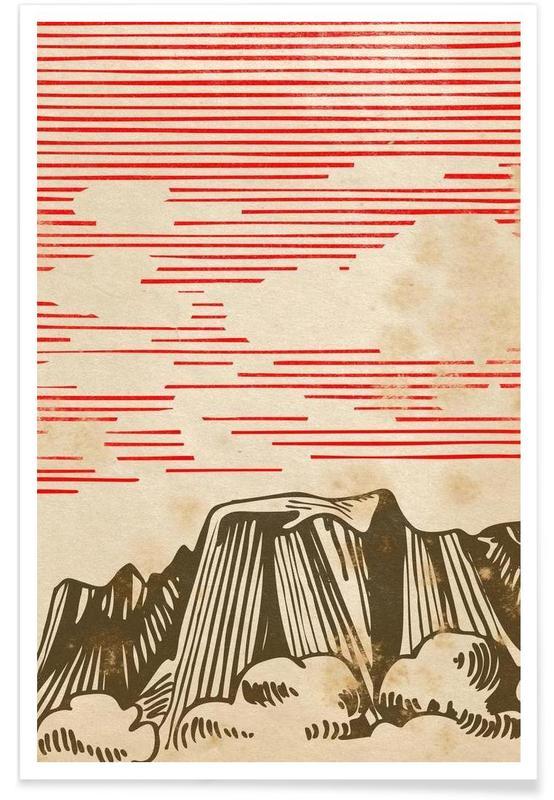 Karpathian Mountains Poster