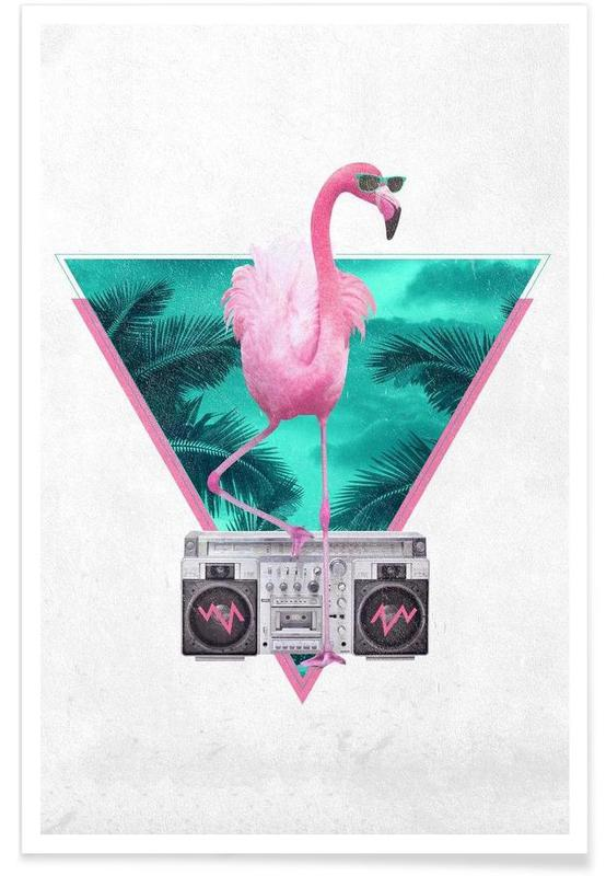 Miami Flamingo affiche