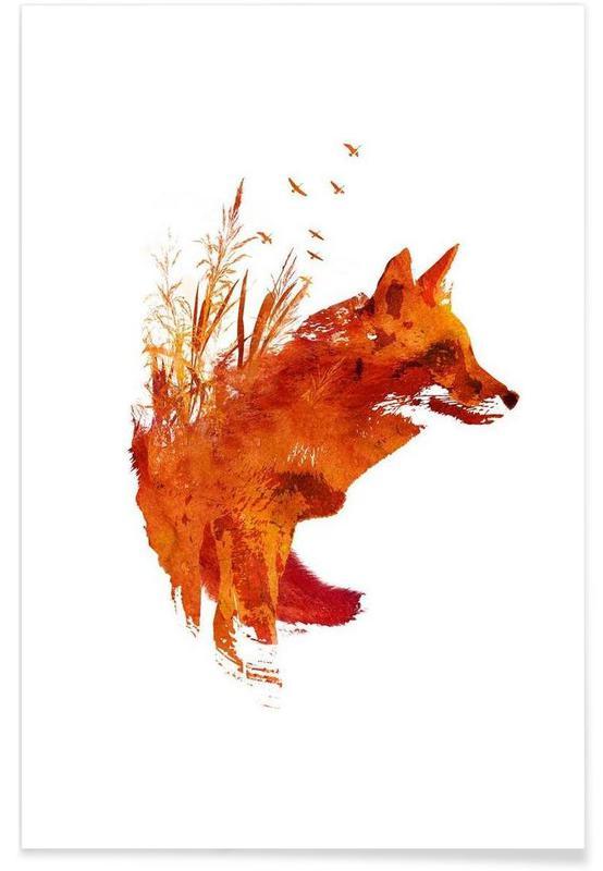 Plattensee Fox Poster