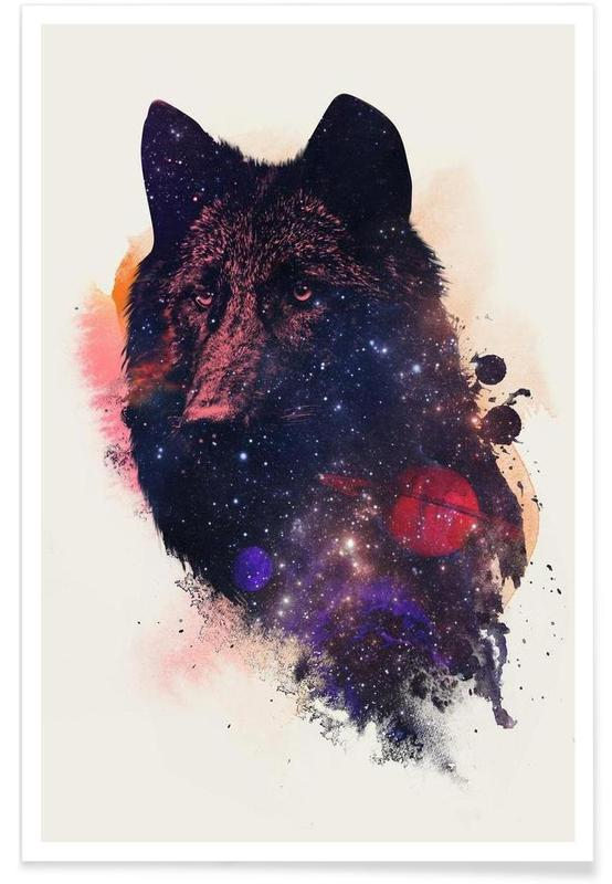 Universal Wolf -Poster