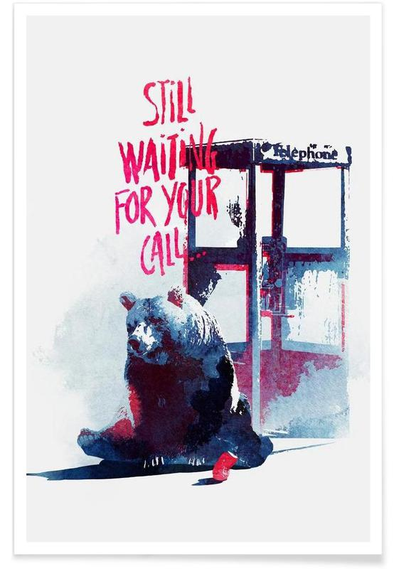 Waiting for your call -Poster
