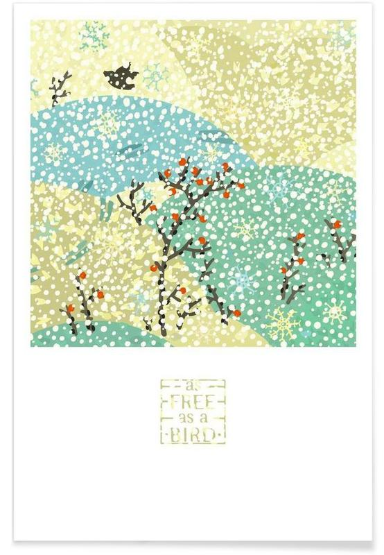 As free as a bird Poster