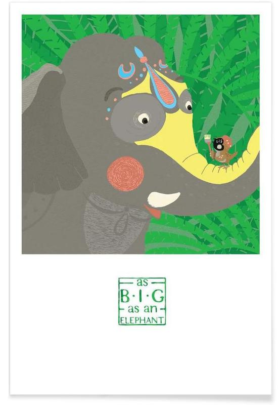 As big as an elephant Poster
