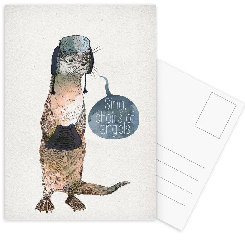 Otter Postkartenset
