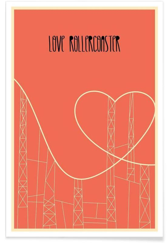 Love Rollercoaster Poster