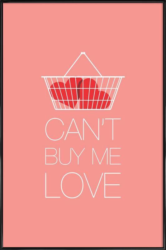 Can't Buy Me Love ingelijste poster