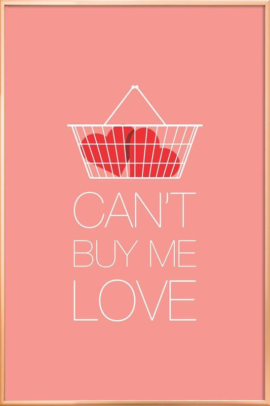 Can't Buy Me Love poster in aluminium lijst