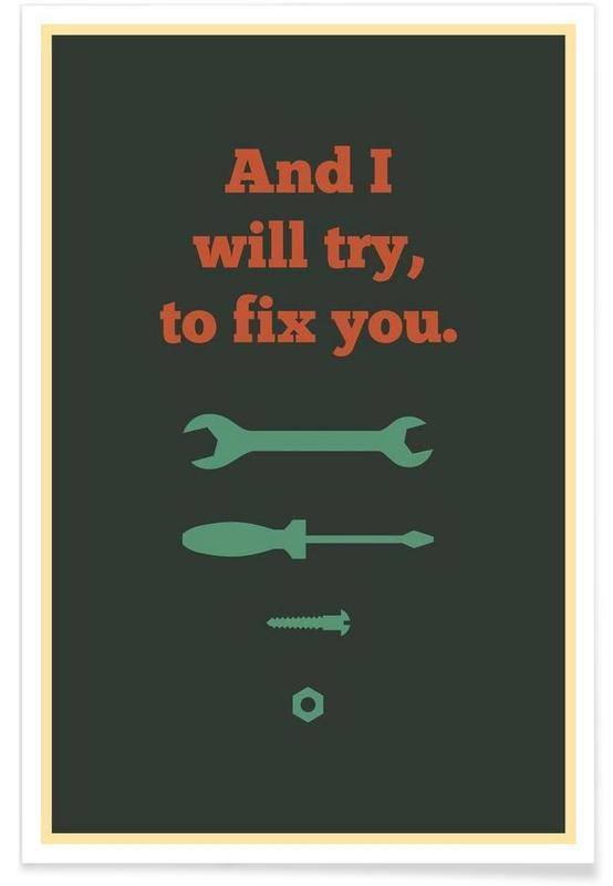 Fix You Poster