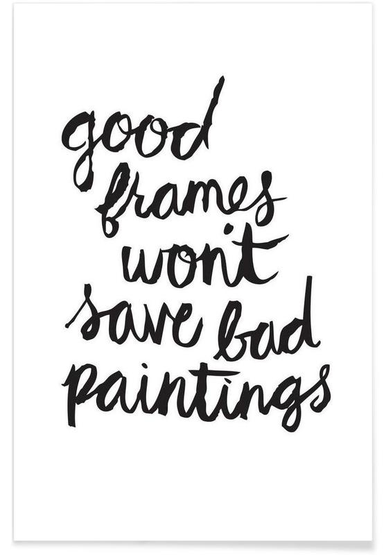 Bad Paintings Poster