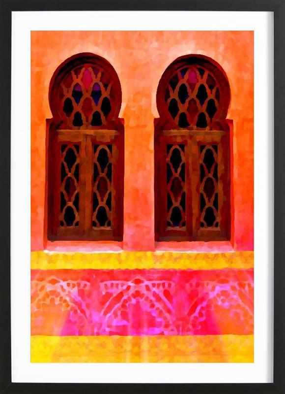 Morocco Premium Poster gerahmt