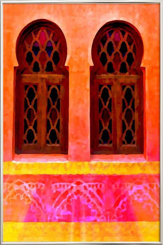 Morocco Poster im Alurahmen
