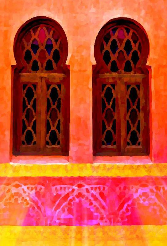 Morocco Acrylglasbild