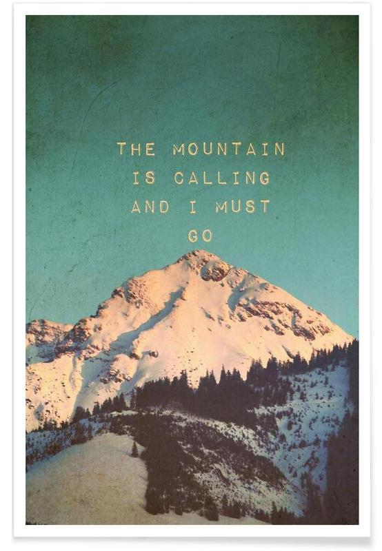 Mountain Is Calling -Poster