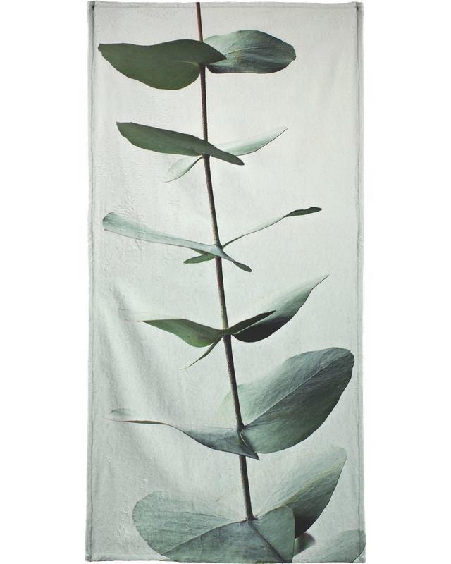Eucalyptus Green Strandtuch | Bad > Handtücher > Saunatücher | Mehrfarbig