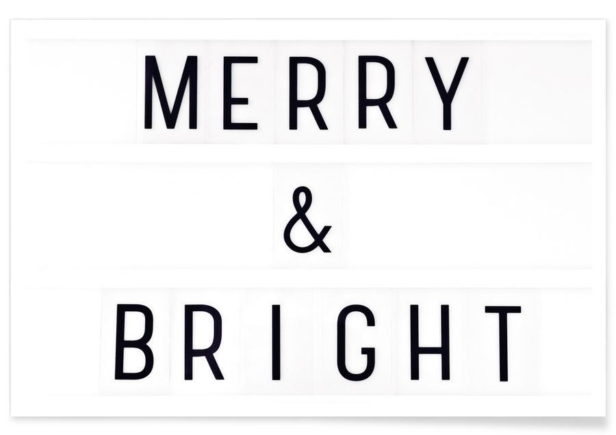 Merry X-Mas Lightbox -Poster