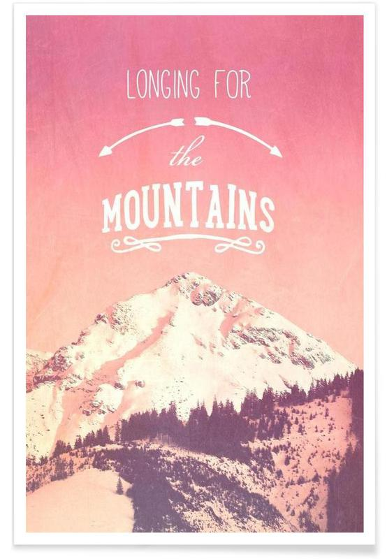 LONGING FOR THE MOUNTAINS Poster