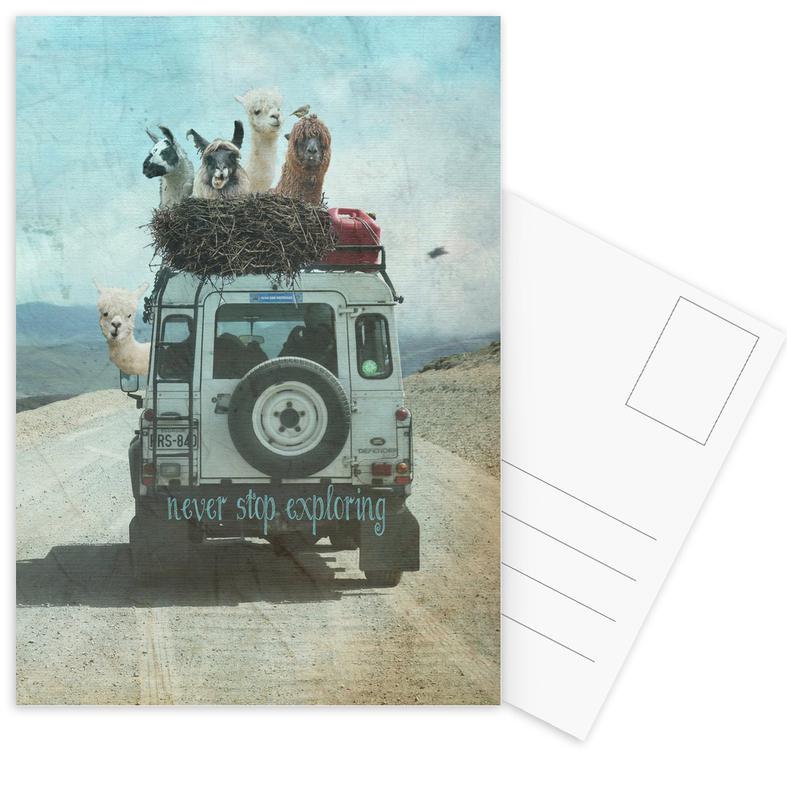 Never Stop Exploring II -Postkartenset