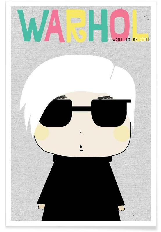 Little Warhol poster
