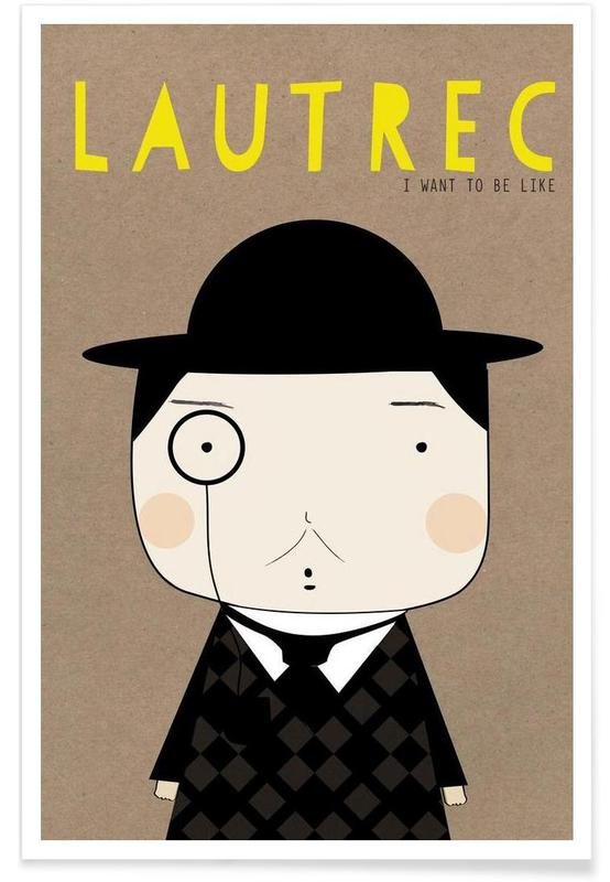 Little Lautrec Poster
