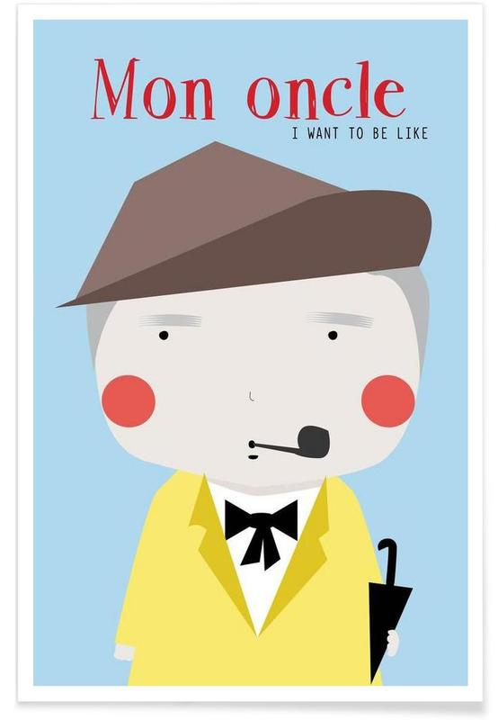 Little Mon Oncle -Poster