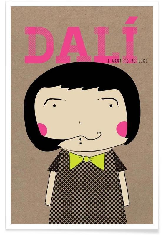 Little Dalí Poster
