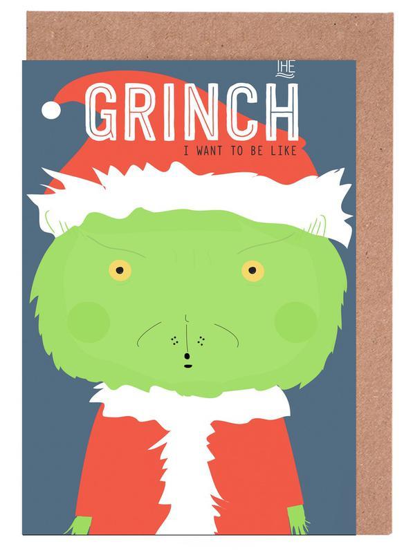 Little Grinch cartes de vœux