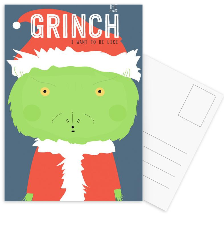 Little Grinch Postcard Set