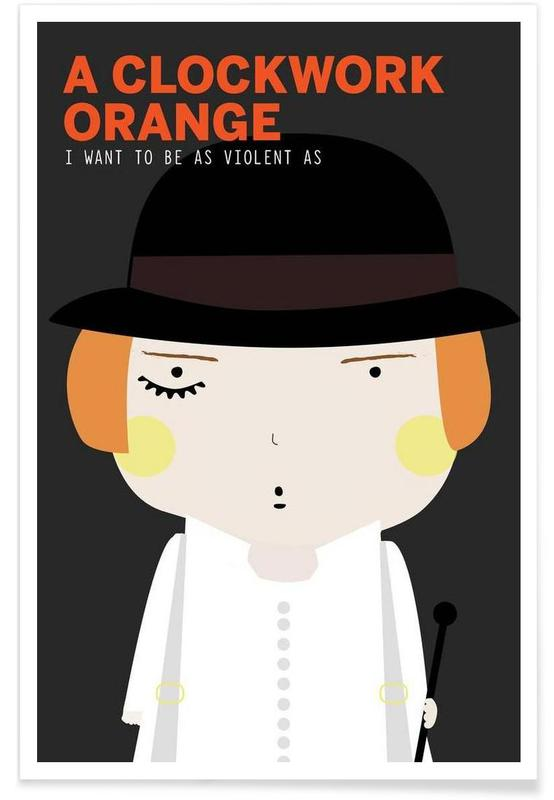 Little Orange clockwork  Poster