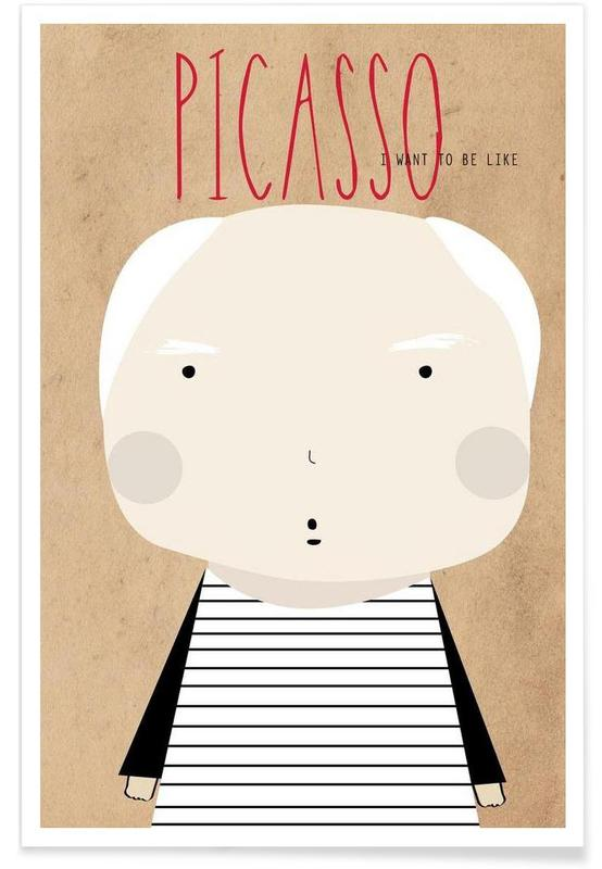 Little Picasso Poster
