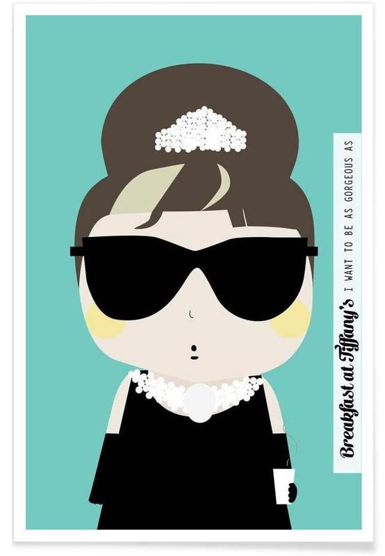 Little Breakfast at Tiffany's -Poster