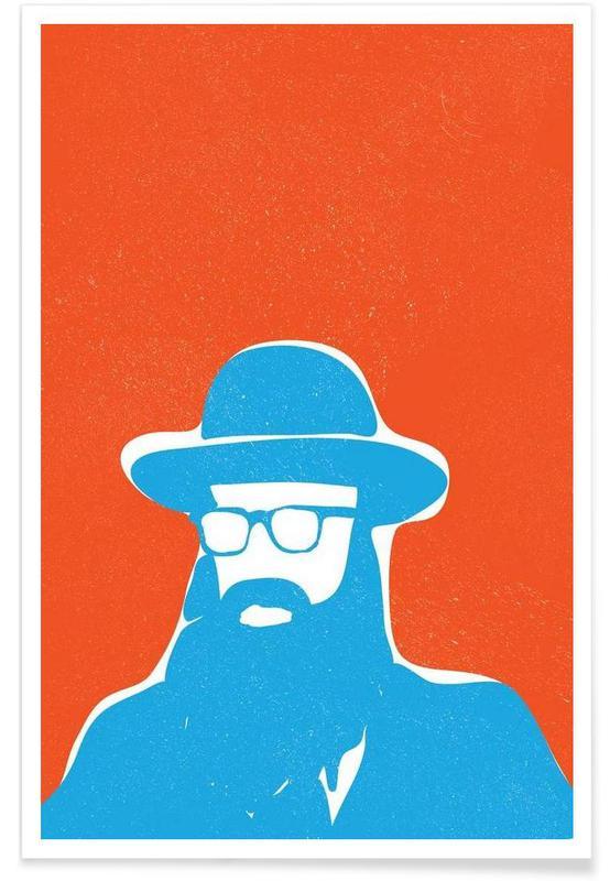 Woody Klezmer Poster