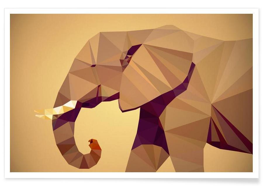 Loxodonta africana -Poster