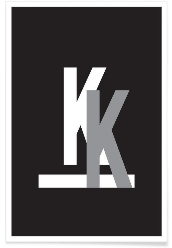 CMYK-K Poster