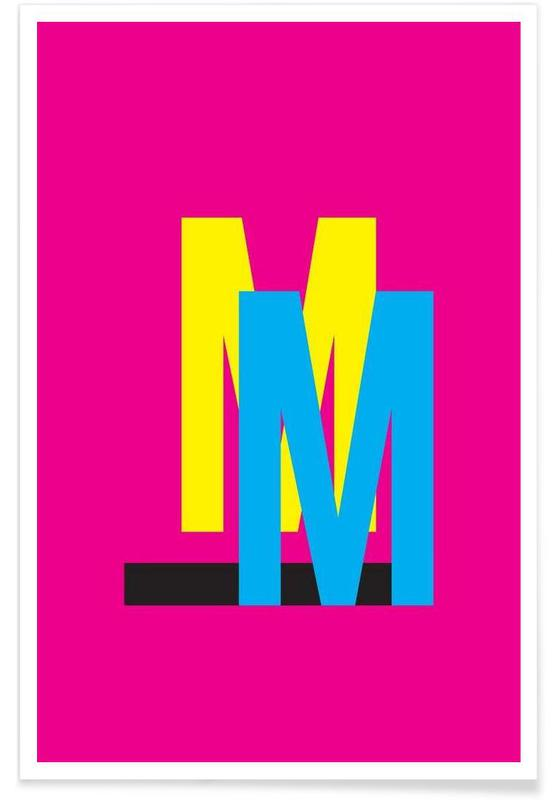 CMYK-M poster