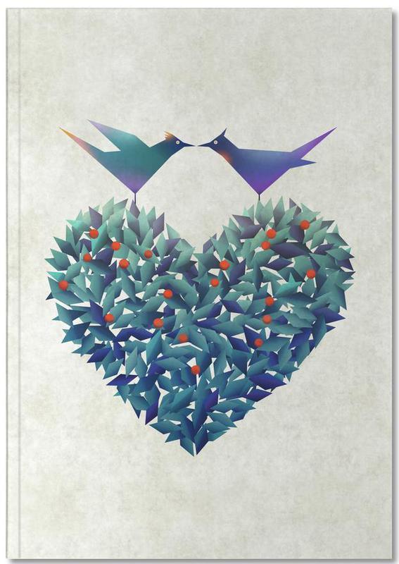 Love Birds Premium Notizbuch