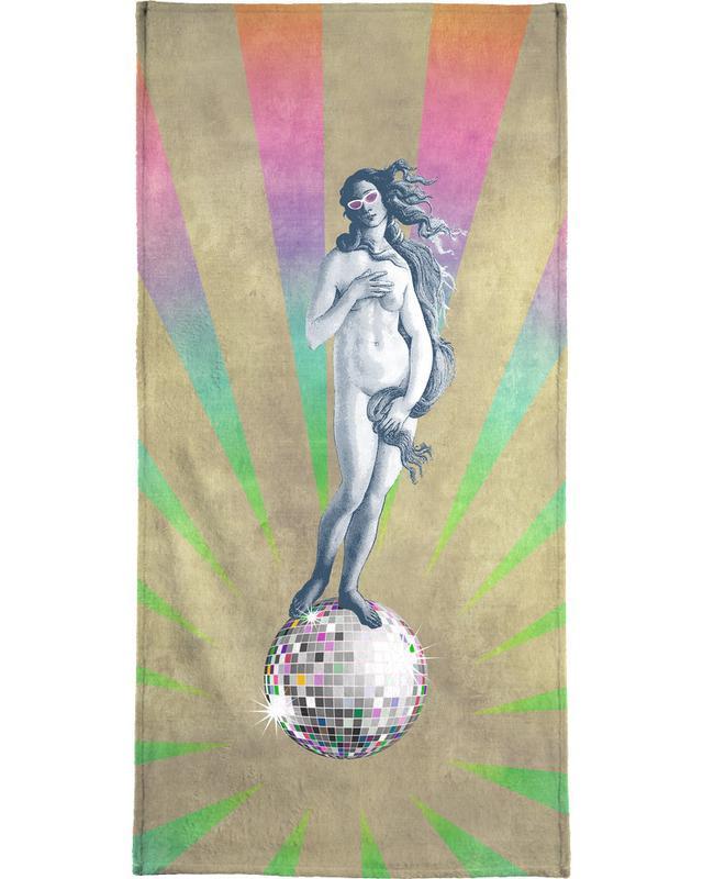 Disco Venus Bath Towel