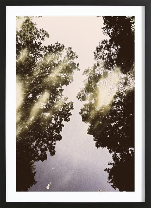 Tiergarten 3 -Bild mit Holzrahmen