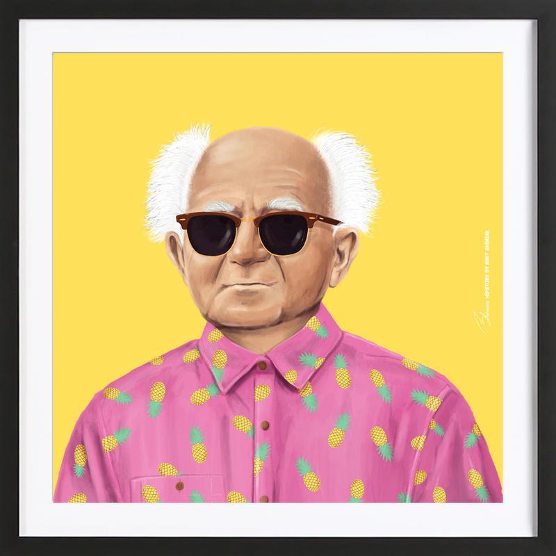 Ben Gurion Framed Print