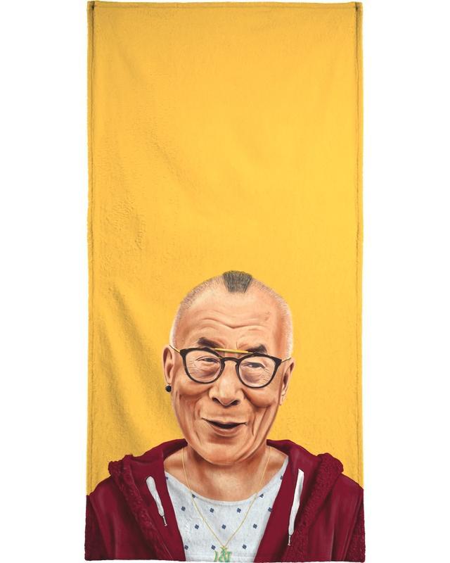 Dalai Lama -Handtuch