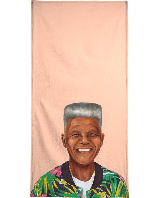 Mandela Beach Towel