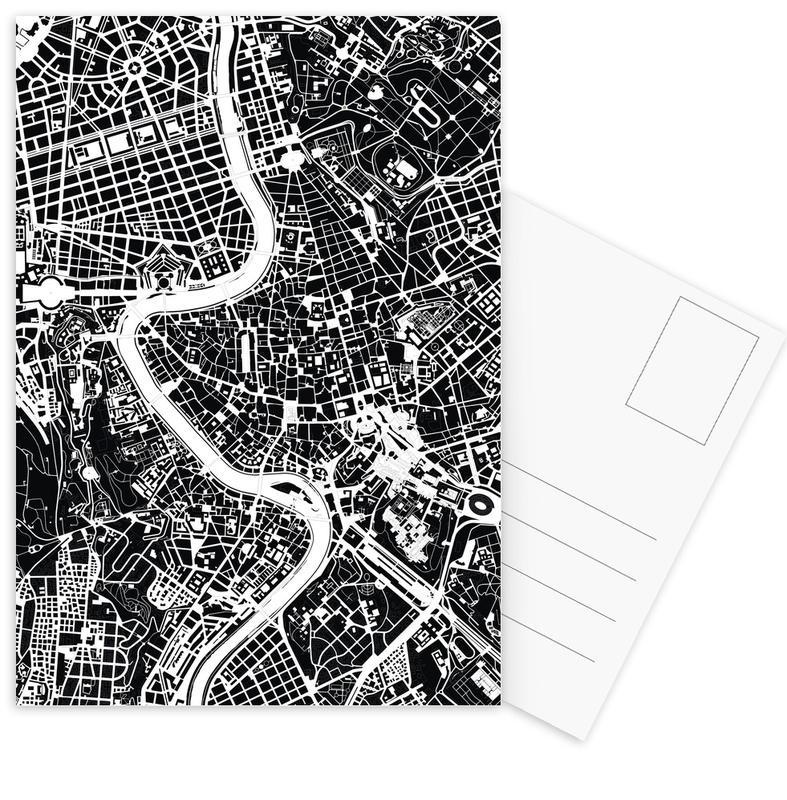 Rome Black & White -Postkartenset