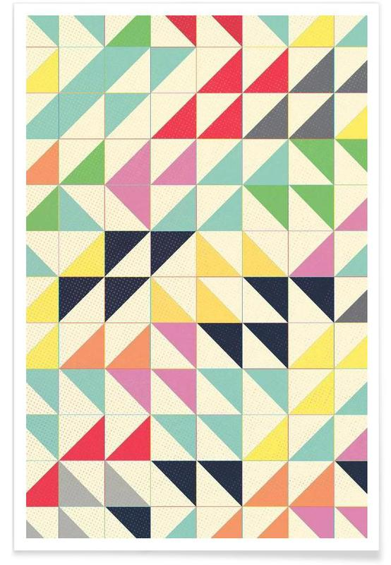 Triangles and Squares I Poster